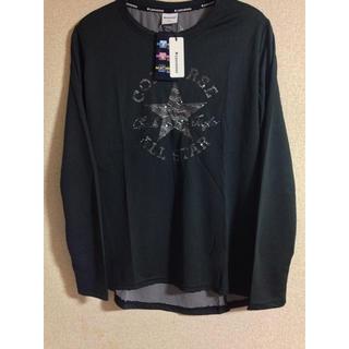 コンバース(CONVERSE)のコンバース 長袖シャツ UV加工 Lサイズ(Tシャツ(長袖/七分))