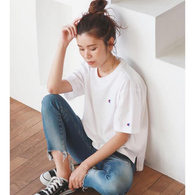 Ungrid(アングリッド)のUngrid champion Tシャツ メンズのトップス(Tシャツ/カットソー(半袖/袖なし))の商品写真