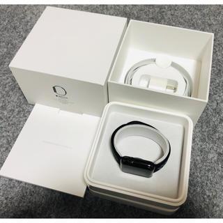 アップルウォッチ(Apple Watch)の超美品Apple Watch 42mm SERIES2ブラックステンレススチール(スマートフォン本体)