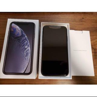 iPhoneXRブラック64GB(スマートフォン本体)
