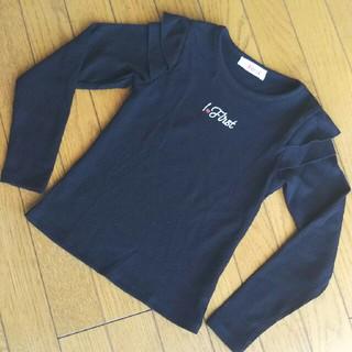 イングファースト(INGNI First)のINGNI First  カットソー黒(Tシャツ/カットソー)