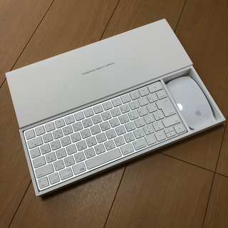 マック(Mac (Apple))のApple Magic Mouse2 Magic Keyboard セット(PC周辺機器)