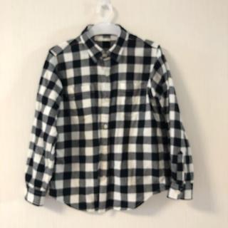 ジーユー(GU)のチェックシャツ 140㎝(ブラウス)
