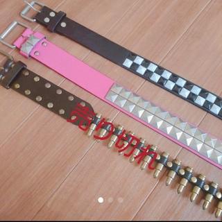 エーシーディーシーラグ(ACDC RAG)のパンクロック系 ベルト2本セット(ベルト)
