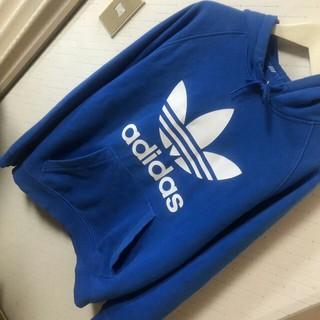 アディダス(adidas)の♥トレフォイル♥ アディダスオリジナルス ビックロゴ ストリート パーカー(パーカー)