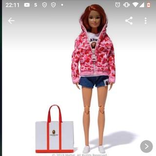 アベイシングエイプ(A BATHING APE)のbape Barbieコラボ人形 pink(キャラクターグッズ)