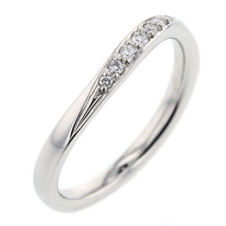 カナルヨンドシー(canal4℃)のcanal 4℃ ウェーブライン リング・指輪 ダイヤモンド レディース(リング(指輪))