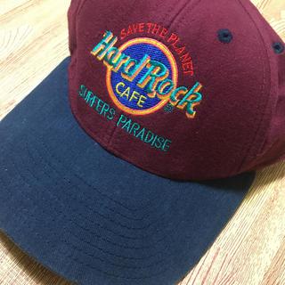 ロックハード(ROCK HARD)の90s Hard Rock CAFE キャップ vintage(キャップ)