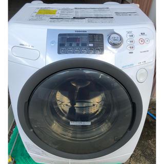 トウシバ(東芝)のTOSHIBA ドラム式洗濯機 (洗濯機)