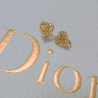 ディオール(Dior)のDior ハート イヤリング(イヤリング)