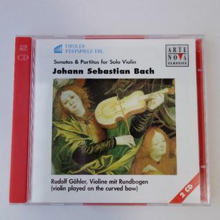 【入手困難】無伴奏ヴァイオリン・ソナタ&パルティータ全曲 ルドルフ・ゲーラー演奏(クラシック)