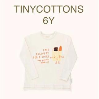 ボボチョース(bobo chose)のTINYCOTTONSタイニーコットンズ フレンドリーバッグロンT 6Y(Tシャツ/カットソー)