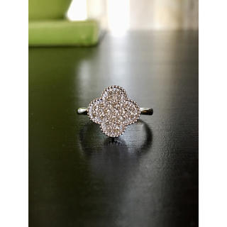 K18WGダイヤモンドリング 計0.30カラット(リング(指輪))