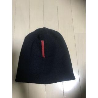 プラダ(PRADA)の●リクエスト●プラダスポーツ●一番人気ニット帽●赤タグ●良好美品(ニット帽/ビーニー)