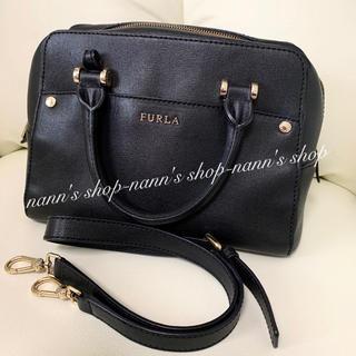 572409146b2a フルラ(Furla)の美品🍀ボストン バッグ フルラ ハンドバッグ ショルダー(ハンドバッグ)