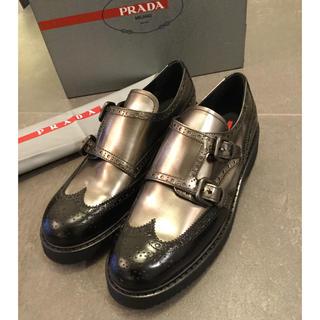 プラダ(PRADA)のけい様専用新品正規品新品正規品早い者勝ち‼️プラダ 日本未入荷サイズ(ローファー/革靴)