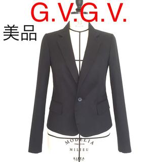 ジーヴィジーヴィ(G.V.G.V.)の【美品】G.V.G.V. コットンテーラードジャケット(テーラードジャケット)
