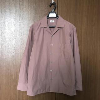 ユニクロ(UNIQLO)のUNIQLO U ユニクロユー オープンカラーシャツ(長袖)(シャツ)