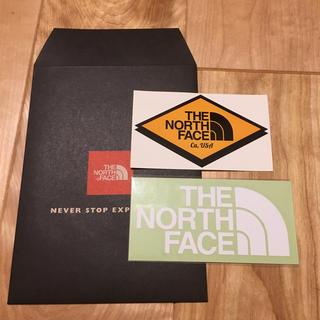 ザノースフェイス(THE NORTH FACE)のTHE NORTH FACE ステッカー★2枚セット(ステッカー)