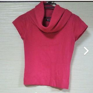 ピンクニット(カットソー(半袖/袖なし))