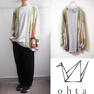 """オータ(ohta)の【ohta】""""和""""detail L/S TEE(Tシャツ/カットソー(七分/長袖))"""