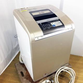 ヒタチ(日立)の日立 洗濯乾燥機 BW-D9MV 洗9k 乾6k 自動おそうじ ビートウォッシュ(洗濯機)