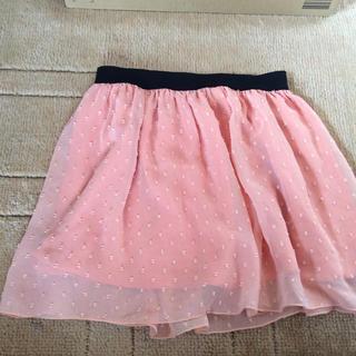 ジーユー(GU)の女児向けスカート(スカート)