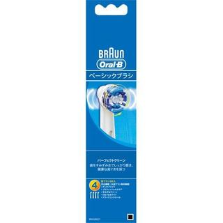 BraunオーラルB パーフェクトクリーン 替ブラシ(EB20-4) 4本入り(歯ブラシ/デンタルフロス)