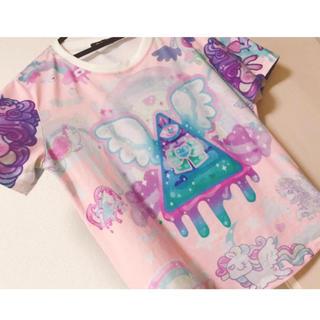 ファンキーフルーツ(FUNKY FRUIT)の病みかわいい 夢かわいい 半袖シャツ(Tシャツ(半袖/袖なし))