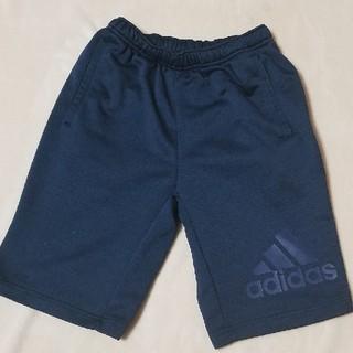アディダス(adidas)のadidas ネイビー ハーフ パンツ 150cm(パンツ/スパッツ)