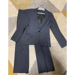 オリヒカ(ORIHICA)のパンツスーツ 上下 グレースーツ ストライプ プロフィール(スーツ)