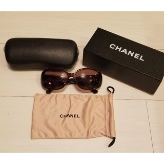 f08da8835d70 シャネル(CHANEL)のCHANEL シャネル サングラス カメリア(サングラス/メガネ)