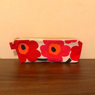 マリメッコ(marimekko)のお値下げしました♡ ミニウニッコで作成しましたペンケースです(その他)