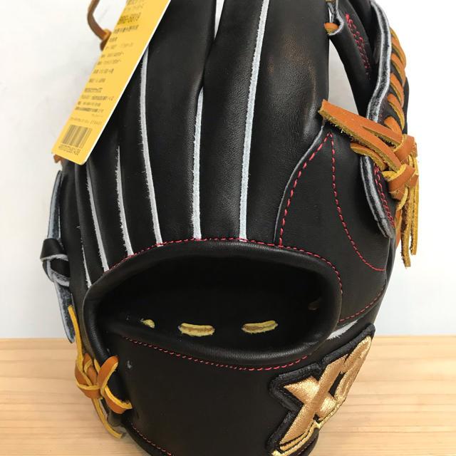Xanax(ザナックス)の超高級品!ザナックス 限定軟式用グローブ 内野兼外野用 スポーツ/アウトドアの野球(グローブ)の商品写真