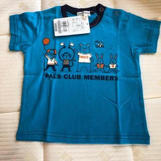 新品☆ 3can4on プリント半袖シャツ  90(Tシャツ/カットソー)