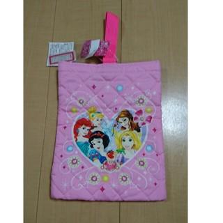 ディズニー(Disney)のプリンセス シューズケース 上履き袋(シューズバッグ)