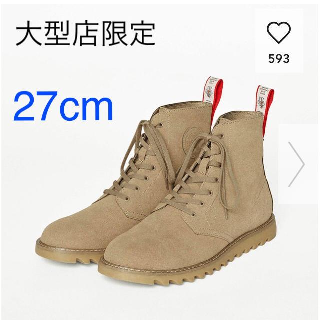 GU(ジーユー)の新品 未開封 GU ❤️ STUDIO SEVEN コラボ  人気完売 ブーツ メンズの靴/シューズ(ブーツ)の商品写真