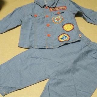 アンパンマン(アンパンマン)のアンパンマン 長袖パジャマ サイズ100(パジャマ)