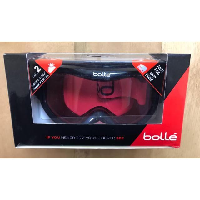 bolle(ボレー)のスノーゴーグル Bolle(ボレー) Mojo ブラック スポーツ/アウトドアのスノーボード(ウエア/装備)の商品写真