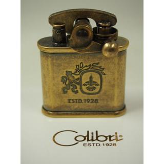 ジッポー(ZIPPO)のColibri コリブリ オイルライター 308-0031 ブラスバレル(タバコグッズ)