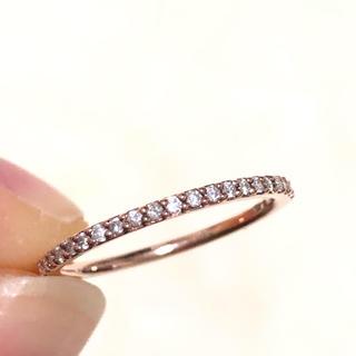 ヨンドシー(4℃)のハーフエタみにい様専用 ニティ ピンクゴールド ダイヤモンド リング ヨンドシー(リング(指輪))