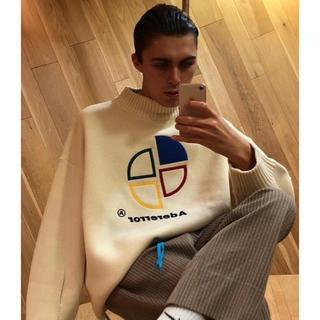 ボウダンショウネンダン(防弾少年団(BTS))の【カペ様専用】ader error slice logo knitwear(ニット/セーター)