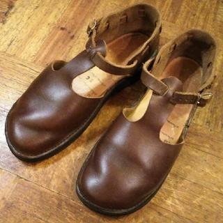 アウロラ(AURORA)のオーロラシューズ✨AURORA SHOES ウエストインディアン 23cm(ローファー/革靴)