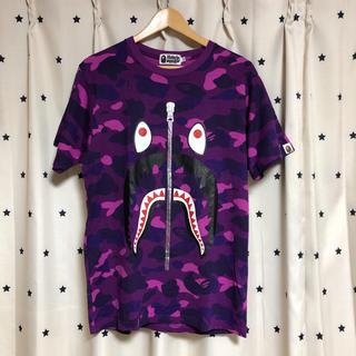 アベイシングエイプ(A BATHING APE)の『✨anチ❤️様専用です✨』APE SHARK CAMO Tシャツ(L)(Tシャツ/カットソー(半袖/袖なし))