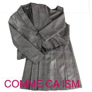 42ea6af67f251 コムサイズム(COMME CA ISM)のCOMME CA ISM 女の子 フォーマル ワンピ ジャケット 140 150