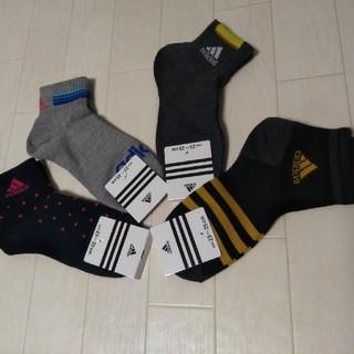 アディダス(adidas)のアディダス ソックス 4足セット(ソックス)
