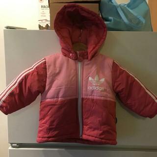 アディダス(adidas)のadidas オリジナルス キッズ ダウン風 ジャンバー 80サイズ♡(ジャケット/コート)