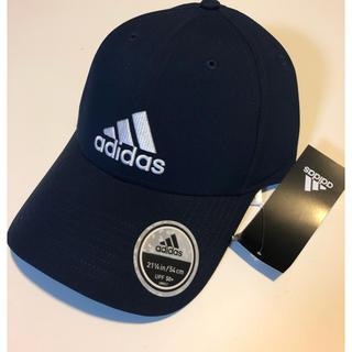 アディダス(adidas)の新品 adidas キャップ 54〜57センチ (帽子)