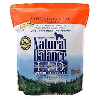 Natural Balance - ナチュラルバランス スウィート&フィッシュ 全犬種用