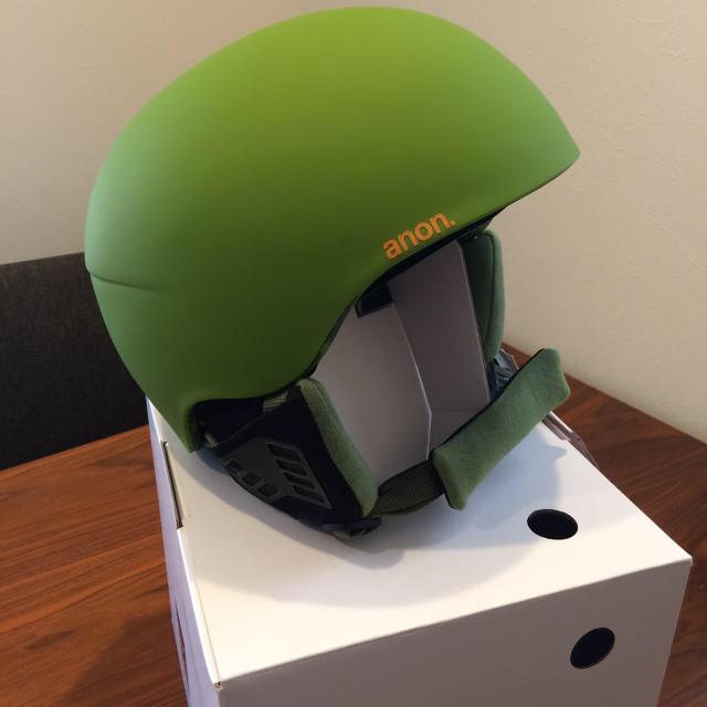 BURTON(バートン)の新品未使用!anon メンズ スノーボード、スキー、ヘルメット スポーツ/アウトドアのスノーボード(アクセサリー)の商品写真